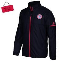 Jaket Tamasya Parasut Hitam Bayern Munchen