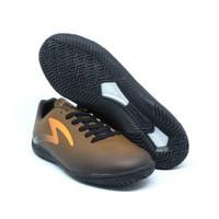 sepatu Futsal Specs Eclipse IN Black Bitter Brown 400676 Original