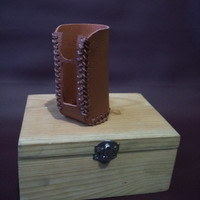 sleeve case mod asmodus minikin v2 warna coklat / full brown