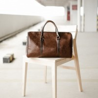 OAKLAND BROWN / Tas gym / Duffle bag / Travel bag from The Daily Smith