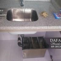 Grease Trap Sink Stainless 600 x 400 x 300 Bak Kontrol Cuci Piring