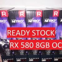 VGA SAPPHIRE NITRO+ Radeon RX580 / RX 580 8GB GDDR5 READY STOK