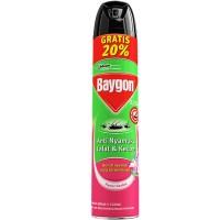 BAYGON AEROSOL FLOWER GARDEN 600ML