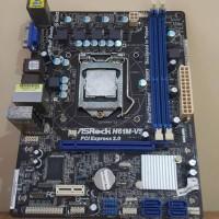 Processor Intel Core i3 2100 dan MOBO ASROCK H61M-VS