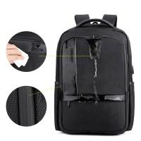 Arctic Hunter Tas Ransel Kasual Backpack Laptop 15.6Inc USB B00120N - Hitam