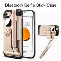 Tashells Built In Selfie Stick Case Bluetooth for iPhone 7