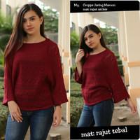 Baju Jaket Rajut Wanita / Sweater Wanita Rajut / Rajutan Wanita Murah