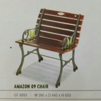 kursi taman besi single amazon chair bench imax