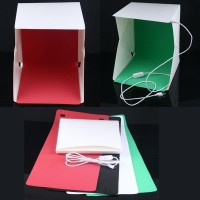 Photo box Studio Mini Portable LED 4PCS Background Small 23 x 23 x 27