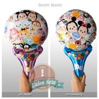 balon pentung tsum tsum / balon foil / balon stick tsum tsum