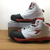 Promo!! Sepatu Basket Diadora Dribling White Merah Hitam -