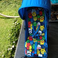 mothercare strollers nanu MONSTER - Biru