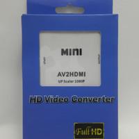 CONVERTER AV CVBS RCA TO HDMI UPSCALER AV2HDMI