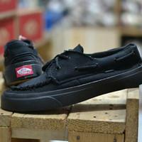 sepatu pria vans zapato full black