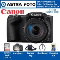 CANON POWERSHOT SX430 IS PAKET DAHSYAT 16GB