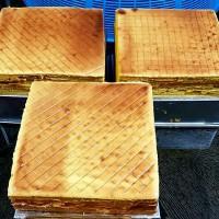 Homemade Kue Lapis Legit Bangka 22cm x 22cm