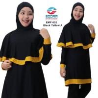 BAJU RENANG MUSLIM EDORA EMP 002, BAJU RENANG WANITA, BAJU RENANG M-XL