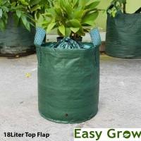 Planterbag 18 Liter Top Flap - Hijau