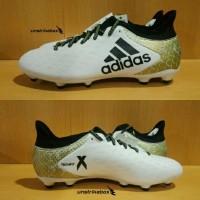 Adidas X 16.3 FG - White | Sepatu Bola Murah Diskon Sale Original BNIB