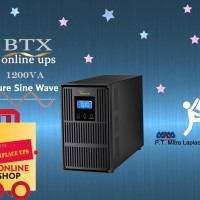 UPS LAPLACE BTX 1200 VA TRUE ONLINE UPS