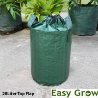 Planterbag 28 Liter Top Flap - Hijau