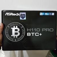 Asrock H110 Pro BTC+ DDR4 1151 Mining 13 PCIE GARANSI RESMI 3 TAHUN