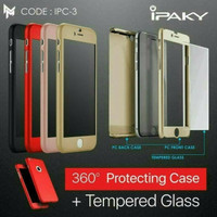 Ipaky 360 Xiaomi Redmi 5A Hardcase Full Cover Free Temperglass Back Ca