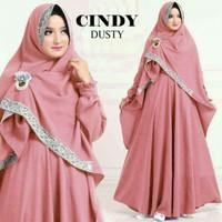 baju muslim syar'i  cyndy  cantik
