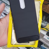Xiaomi Redmi 5 Plus Carbon Armor Soft Case Cover Casing
