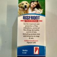 Bisfront Flea & Tick Drops (5 ml)