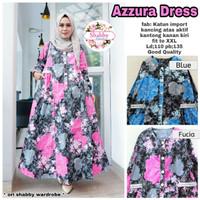 Baju Terusan Wanita Muslim Longdress Azzura Dress