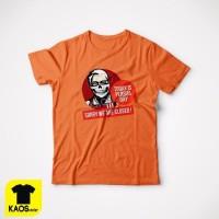 Kaos Tshirt Baju Combed 30S Distro KFC Today Is Persija Day Jakmania