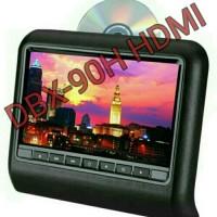 headrest dvd clip on layar 9 in merk avelino HDMI INPUT & MIRROR LINK