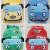 Import Tas Ransel Sekolah Backpack Anak Boneka Tayo The Little Bus