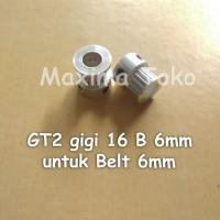 Timing Pulley GT2 Gigi 16 Teeth Bore 6mm 2GT 16T Tooth B 6 mm
