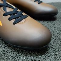 sepatu futsal SPECS eclipse in black forest/ bitter brown/ orange