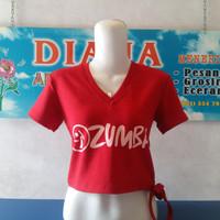 Baju senam merah