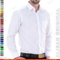 Kemeja ALISAN ORIGINAL B1-14 Baju Kerja Cowo Putih
