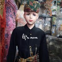 baju abang betawi anak size xxl adat nasional