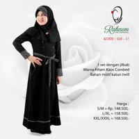 Dress/ gamis +jilbab anak Rahnem GH 11