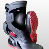 Sepatu karet pvc ap boots moto 3 anti air banjir hujan