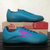 Sepatu Futsal Specs Eclipse IN - Dark Emerald/Mineral Blue