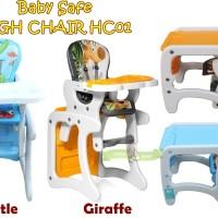 BABY SAFE HIGH CHAIR HC01 KURSI MAKAN BABY SAFE