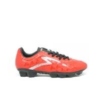 Sepatu Bola Specs QUARK FG - Chestnut Red/Black/Silver