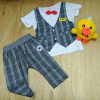 Baju Setelan Rompi Anak Import Baju Anak Fashion Baju Pesta Anak Laki2