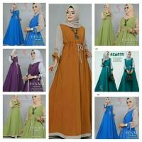 Renata Dress - Baju gamis muslim - Baju Dress wanita - Gamis - Gaun