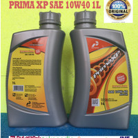 Oli mesin Mobil Pertamina PRIMA XP PRIMAXP SAE 10W40 Kemasan 1 Liter