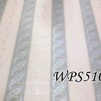 WPS510 STRIPE N TWIST WALLPAPER STICKER WALPAPER DINDING