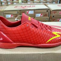 OBRAL Sepatu Futsal Specs Accelerator Exocet IN Dark Red Original