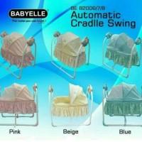 Box Bayi Automatic Baby Swing Bed BE 82006/7/8 BabyElle